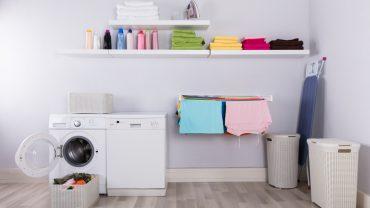 5 ไอเดียง่ายๆ จัดการกับห้องซักรีดให้ดูดี