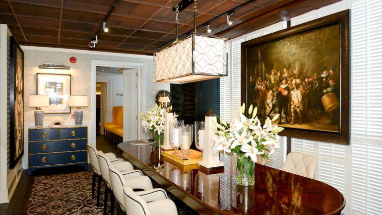 แต่งห้องอาหารให้หรูหรามีระดับ กับ Villa Vinotto