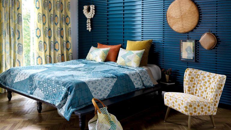 """เปลี่ยนลุค เพิ่มสไตล์ให้กับห้องด้วยผ้าตกแต่งบ้านคอลเล็กชัน """"ORIGAMI"""""""