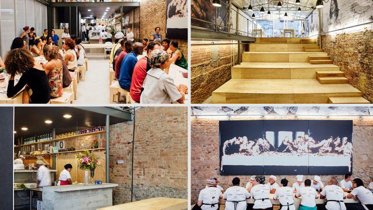 สุดอลังการ Refettorio Gastromotiva โรงทานบรรยากาศดี อาหารเริ่ดที่บราซิล