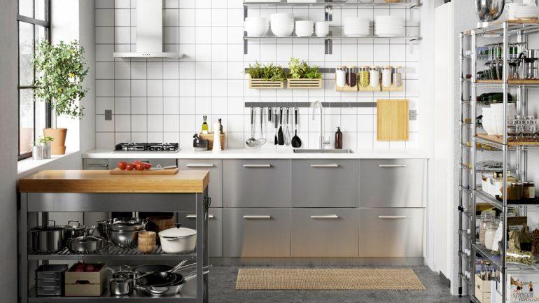 เนรมิตพื้นที่ครัวให้กลับมาสวยงาม และน่าใช้ด้วยอุปกรณ์เสริมจากอีเกีย
