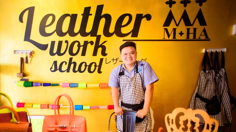 มหา อาร์ต แอนด์ คราฟ โรงเรียนสอนทำเครื่องหนังแฮนด์เมดสุดเจ๋ง