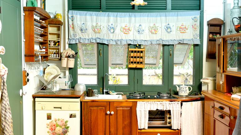 รวมไอเดียแต่งครัวสวยด้วยงานผ้า
