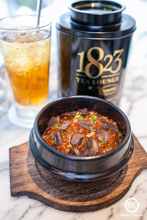 1823 2_เมนูใหม่ประจำฤดูร้อน Tea Rice with Ikura & Truffle_re