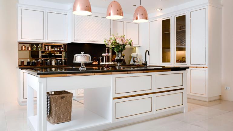 ชุดครัว My Kitchen ครัวของคนชอบทำขนม หรูหราอย่างมีสไตล์