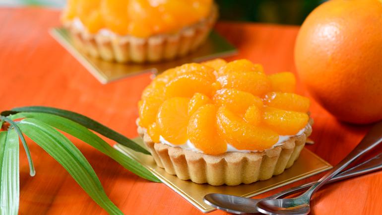ลิ้มรสเลเยอร์ความอร่อยของทาร์ตส้มสไตล์ญี่ปุ่นรสชาติเปรี้ยวอมหวาน
