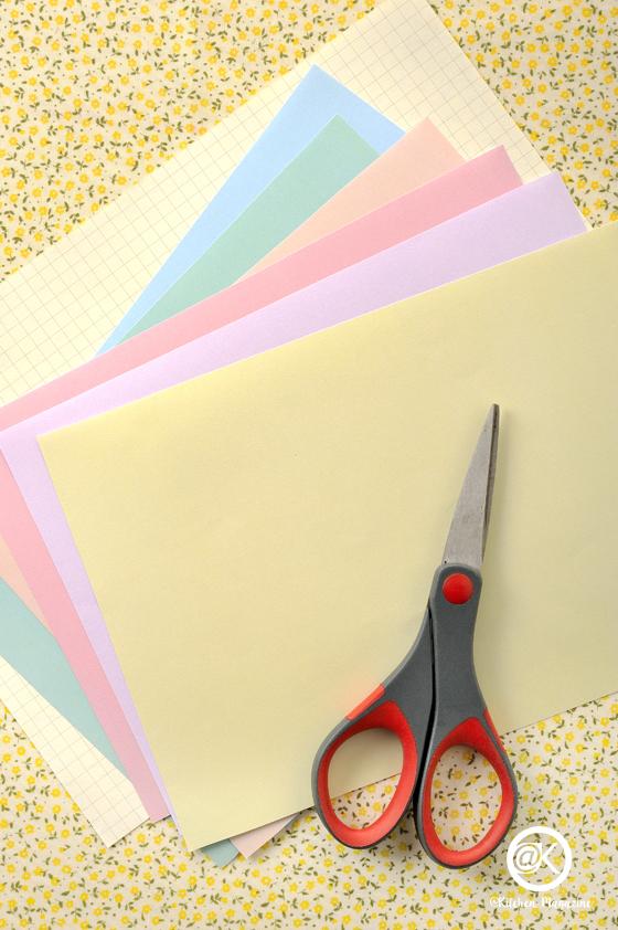 กระดาษ, อุปกรณ์, กรรไกร