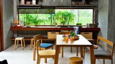 เสน่ห์ของครัวปูนเปลือย แรงบันดาลใจจากบ้านทรงไทย