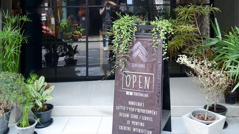 THINGTHINGS CAFE คาเฟ่เปิดใหม่ไซส์มินิ พื้นที่อิสระของคนรักงานคราฟท์