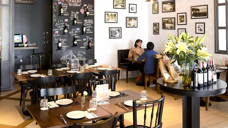 Fuzio Cafe  ร้านอาหารอิตาเลียนสุดเท่ที่บางนา