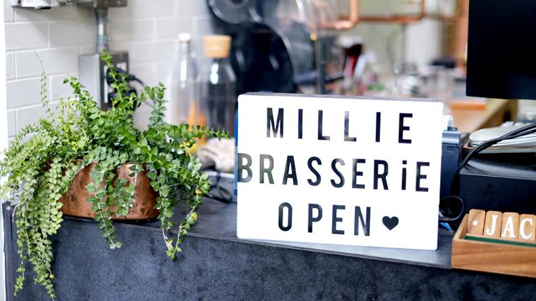 Millie Brasserie อาหารอร่อยขนมสวยมีเอกลักษณ์