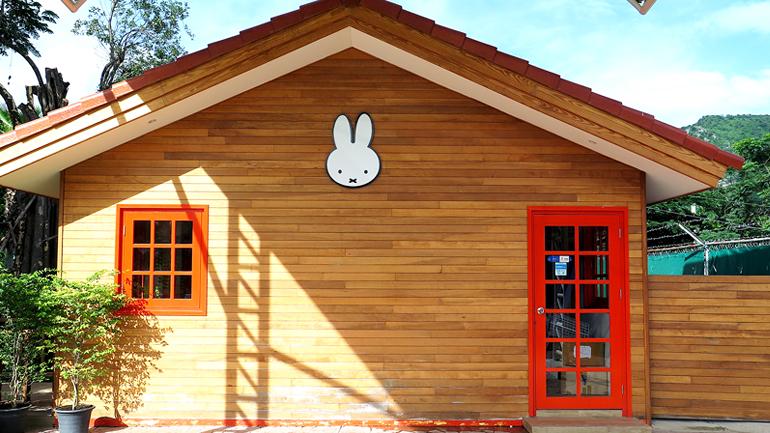 ร้าน Miffy's Garden Cafe คาเฟ่กระต่ายมุ้งมิ้งปิ๊งรักที่ชะอำ