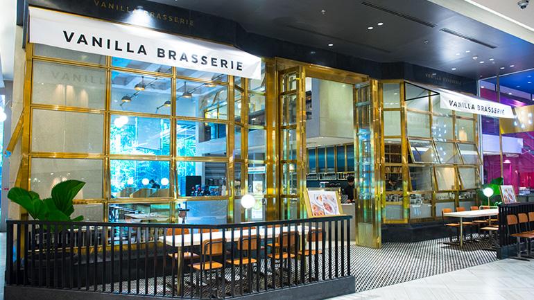 Vanilla Brasserie สาขาสยามพารากอนรีโนเวทใหม่