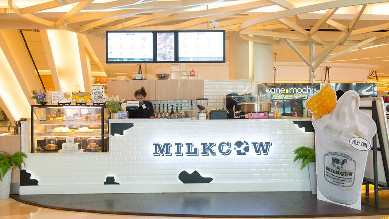 ชวนกินไอศกรีมดังจากเกาหลีกันที่ milkcow สยามพารากอน