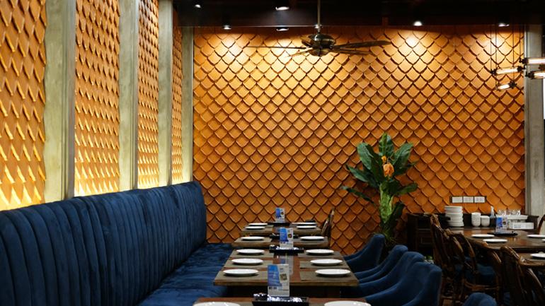 เฬอรส ร้านอาหารไทยโบราณ บรรยากาศดี
