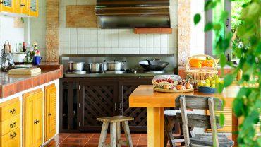 เพิ่มพื้นที่สีเขียวในครัวให้สดชื่น แถมใช้งบไม่เยอะ