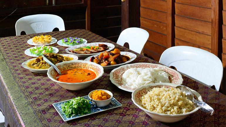 อาหารสยาม – โปรตุเกส เมนูหาทานยากจาก   ร้านบ้านสกุลทอง – กุฎีจีน