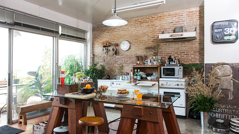 ผนังในห้องครัว 8 สไตล์ มาพร้อมฟังก์ชันที่ตอบโจทย์คนชอบทำอาหาร