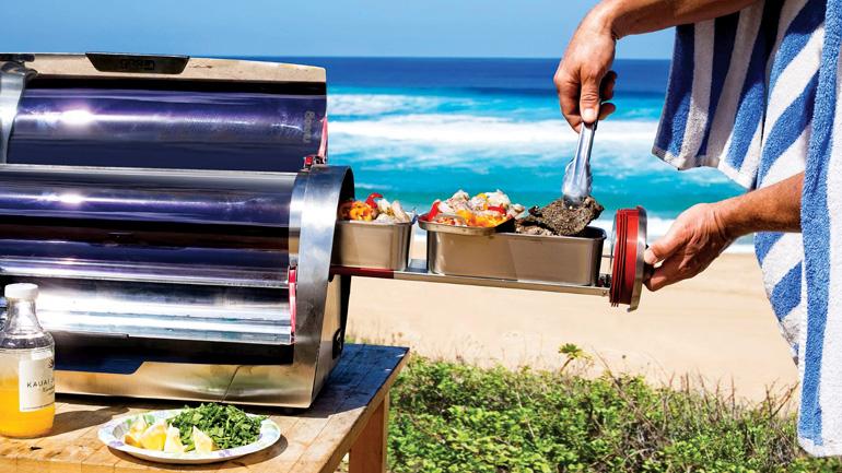 นวัตกรรมใหม่ใช้แสงอาทิตย์ปรุงอาหาร