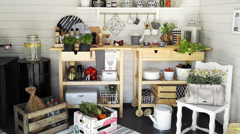ไอเดียเนรมิตห้องครัวให้พร้อมปาร์ตี้ สไตล์ DIY