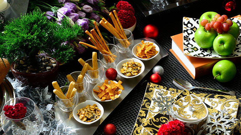 สนุกกับการจัดโต๊ะ เตรียมรับปาร์ตี้ฉลองปีใหม่