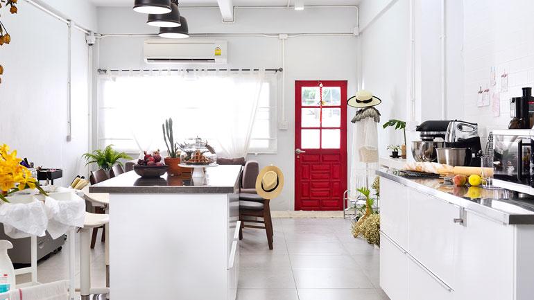 ชุบชีวิตตึกเก่าให้เป็นครัวสำหรับทำเบเกอรีโดยเฉพาะ