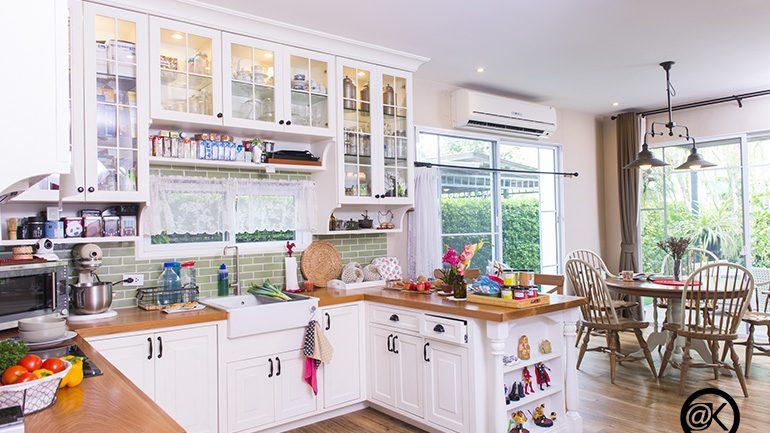 8 ไอเดีย เคล็ดลับง่ายๆ ในการเลือกไฟให้ห้องครัว