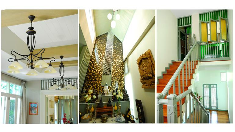 7 ตัวอย่างแต่งบ้านสไตล์ไทย (ประยุกต์) ทุกอณู