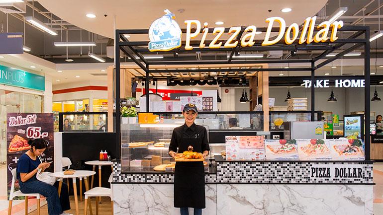 อยากกินพิซซ่าแค่ชิ้นเดียวต้องมาที่ Pizza Dollar แป้งหนานุ่มกับชีสเต็มๆ คำ