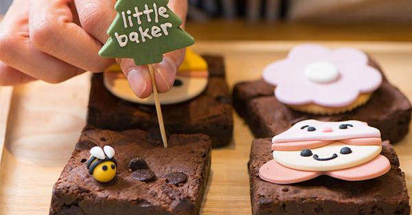 ชวนมาทำบราวนี่สุดน่ารักสไตล์ Little Baker Café and Studio