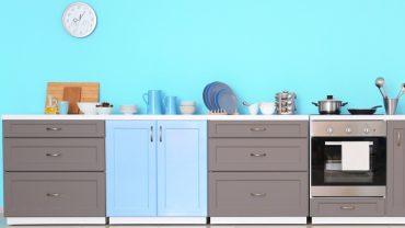 ตัวอย่างสีหน้าบานชุดครัว 5 แบบ สีหว้านหวาน