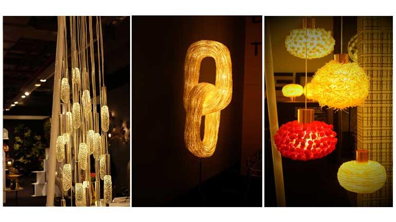 โคมไฟแบรนด์ Ango ใช้วัสดุธรรมชาติผสานแนวคิดแบบสถาปัตย์