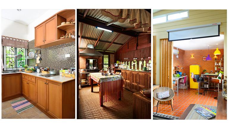 20 ห้องครัว สวยแบบบ้านๆ เห็นแล้วน่าแต่งตาม