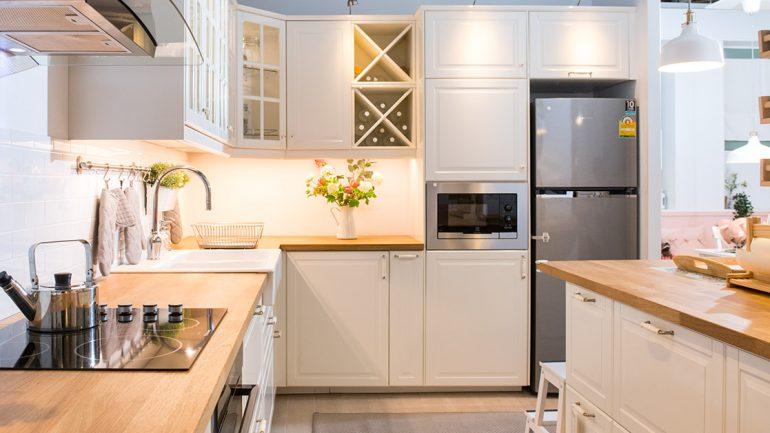 แบบครัวสีขาวกลิ่นอายวินเทจสุดอบอุ่นสำหรับครอบครัวใหญ่