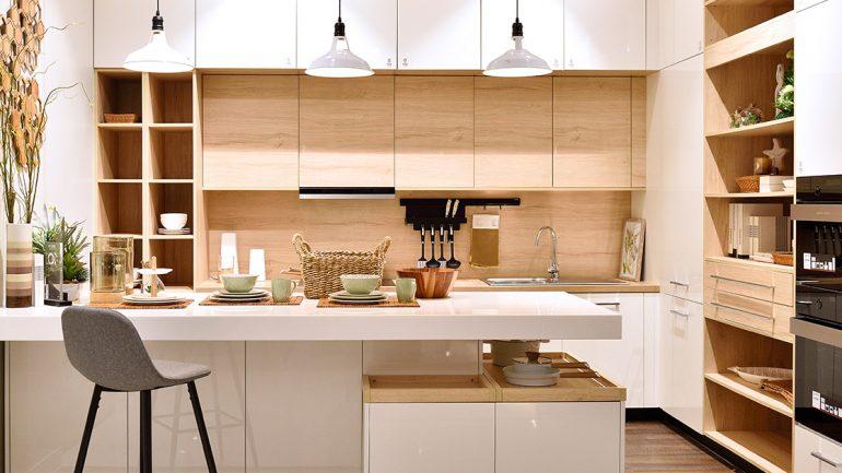 ชุดครัว minimalist สวย เรียบง่าย สะอาดตา