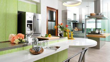 5 เคล็ดลับเลือกโทนสีห้องครัวให้สนุกสดใส แต่ดูไม่เลอะเทอะ