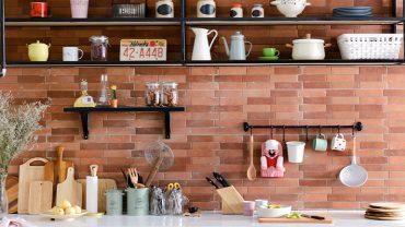 10 ไอเดียเปลี่ยนที่แขวนของในครัวให้ดูสวยน่าใช้งาน