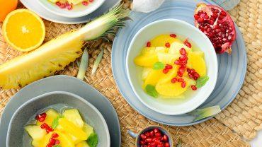หวานเย็นจากผลไม้