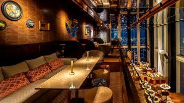 """""""มหานคร แบงค็อก สกายบาร์"""" ห้องอาหารเเละบาร์ที่สูงที่สุดในประเทศไทย"""