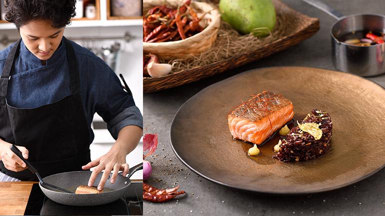 เสิร์ฟเมนูข้าวผัดน้ำปลาหวาน-สเต๊กแซลมอน จากเชฟจ๋า MasterChef Season2
