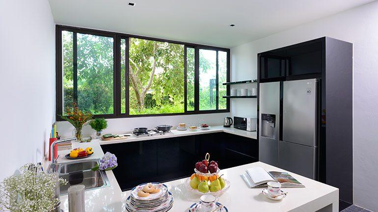 ไอเดียออกแบบห้องครัวสไตล์มินิมอล เรียบง่ายแถมฟังก์ชันครบครัน