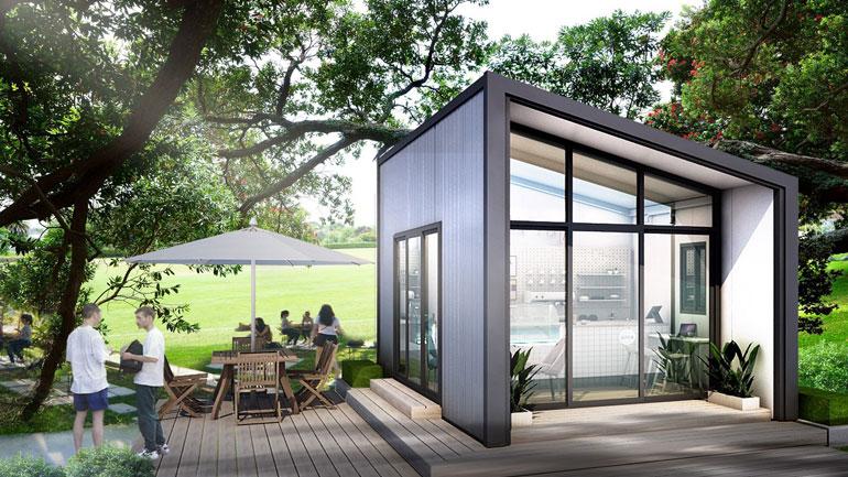 Blox นวัตกรรมบ้านเหล็ก สร้างเสร็จในวันเดียว