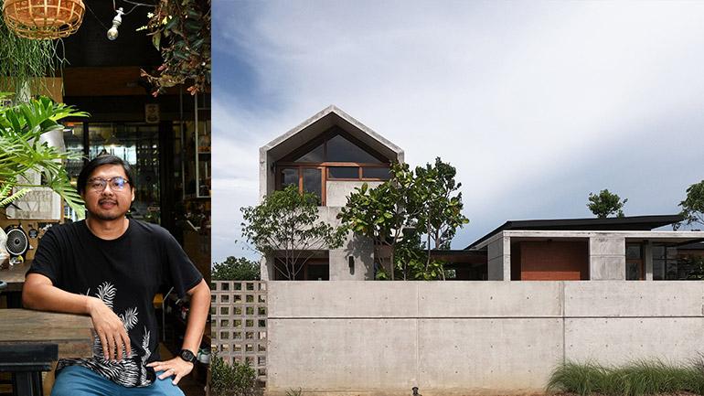 Backyard Architect คอนกรีตและเสน่ห์ในงานออกแบบ