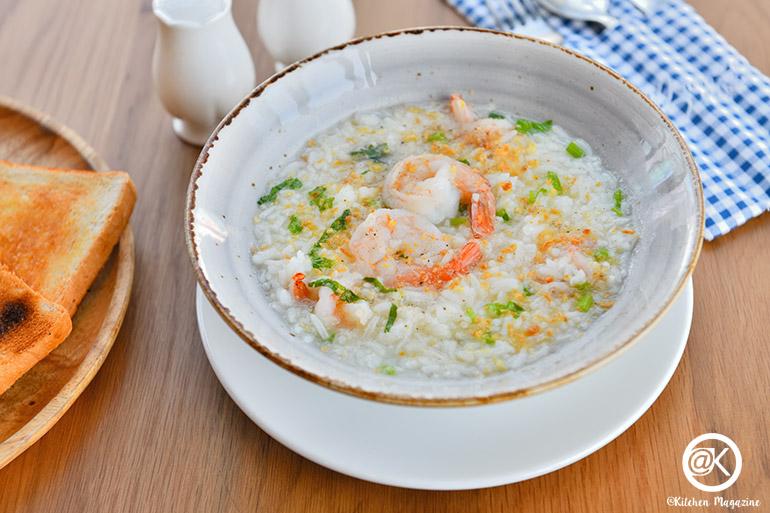 shrimp rice porridge– 99 Baht